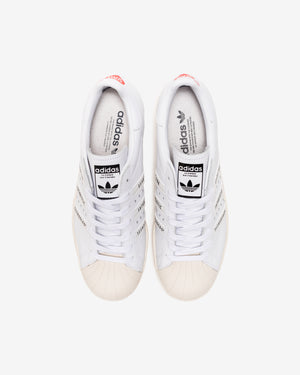 ADIDAS X HUMAN MADE SUPERSTAR80s - WHITE