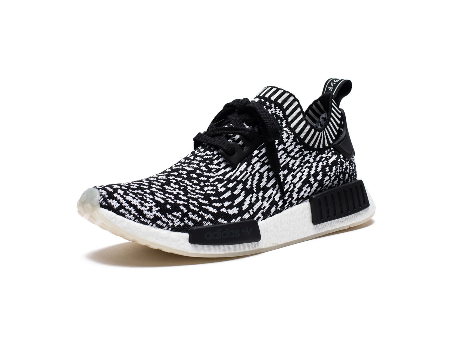 online retailer b74c3 f46dd NMD R1 PK - BLACK/WHITE | Undefeated