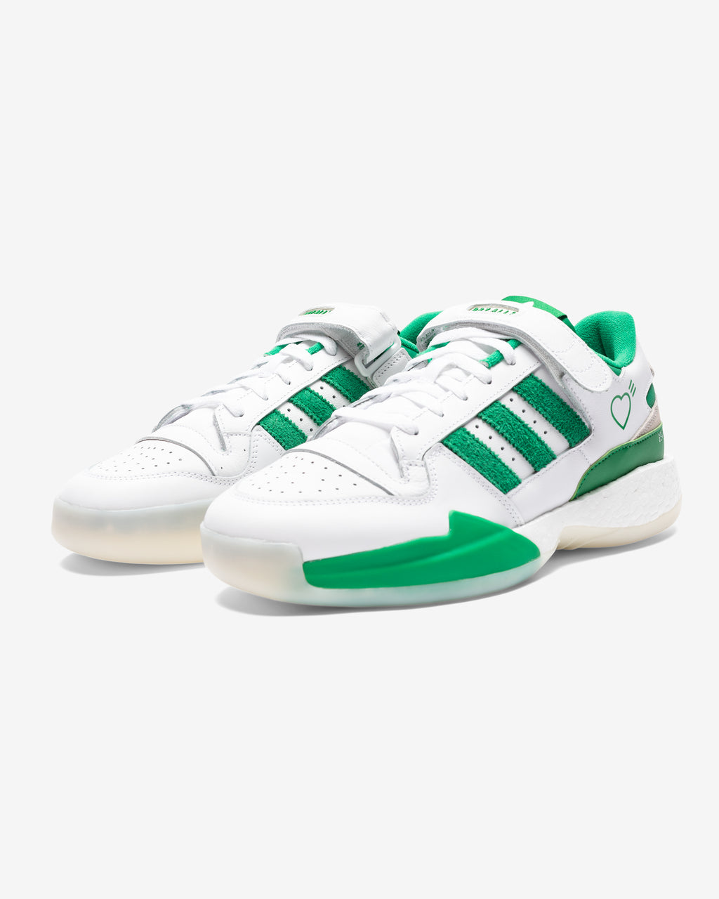 ADIDAS X HUMAN MADE FORUM LOW - GREEN