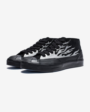 CONVERSE X ASAP NAST JACK PURCELL CHUKKA MID - BLACK/SILVER