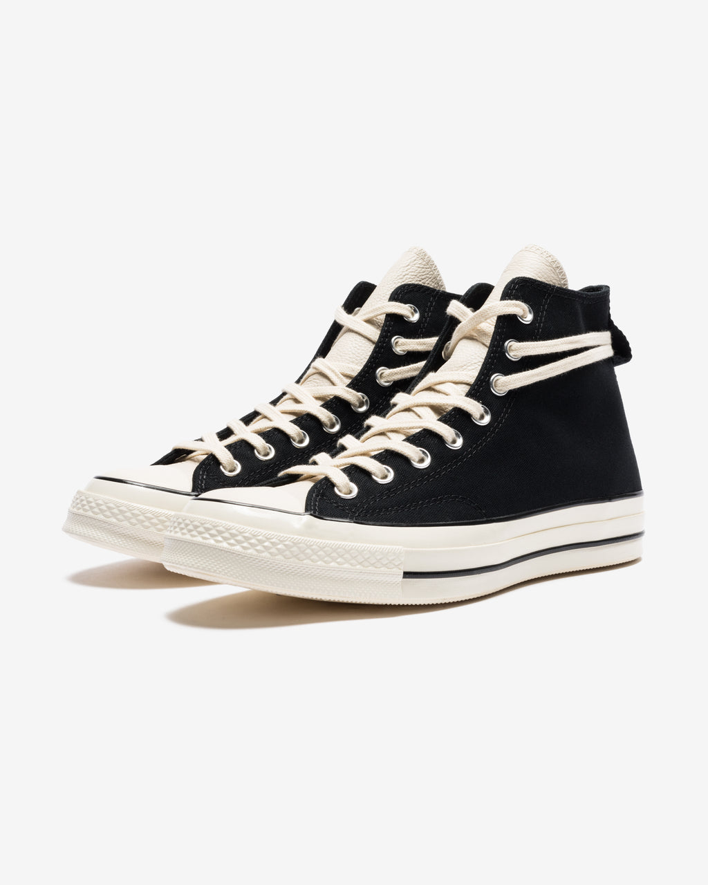 CONVERSE X FEAR OF GOD CHUCK 70 HI - BLACK/ EGRET/ NATURAL