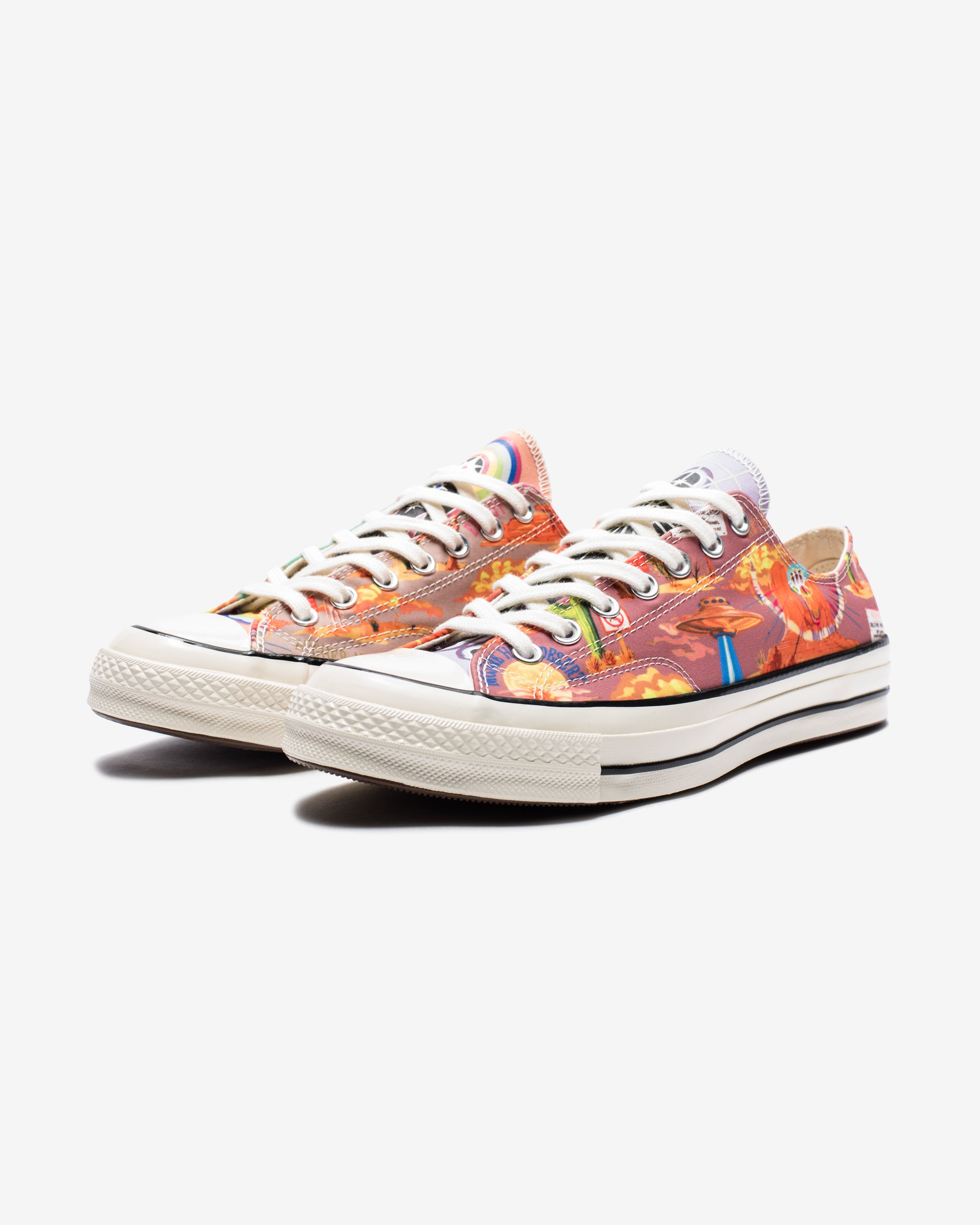 CONVERSE X TWISTED RESORT CHUCK 70 OX - EGRET/ MULTI/ BLACK