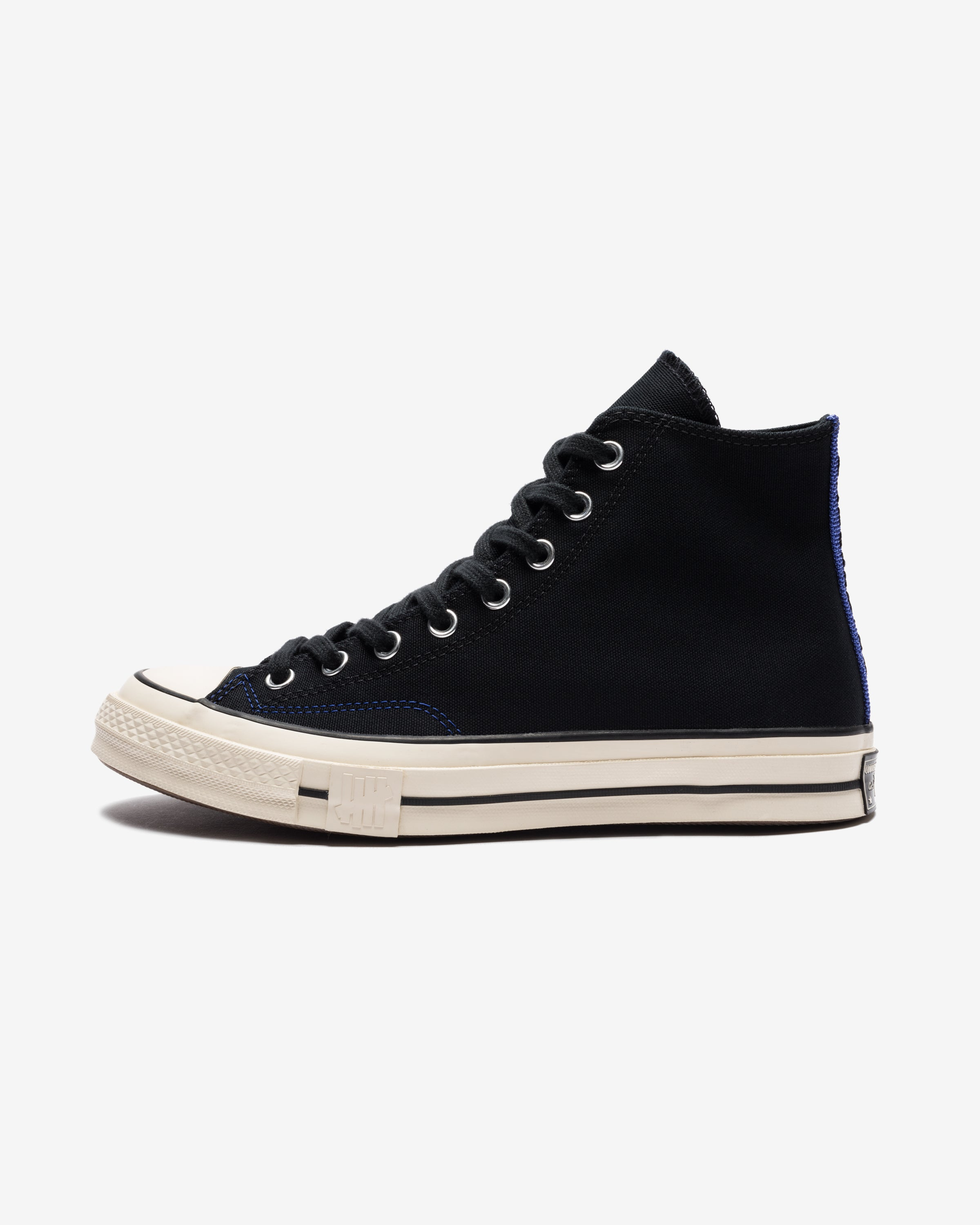 CONVERSE X UNDEFEATED CHUCK 70 HI - BLACK/ NATURALIVORY