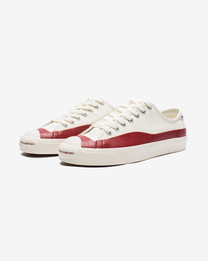 CONVERSE X POP TRADING CO JACK PURCELL PRO PTC OX - EGRET/RED