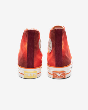CONVERSE X CONCEPTS CHUCK 70 HI - ORANGE/ RED/ EGRET