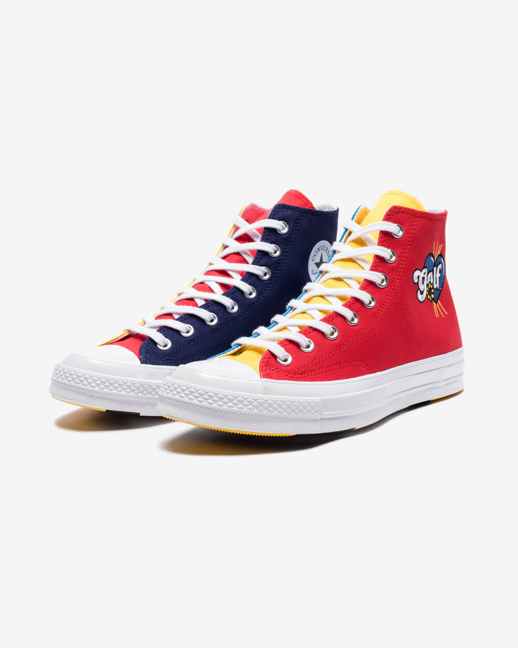 CONVERSE X GOLF CHUCK 70 HI - BLUE/ YELLOW/ RED