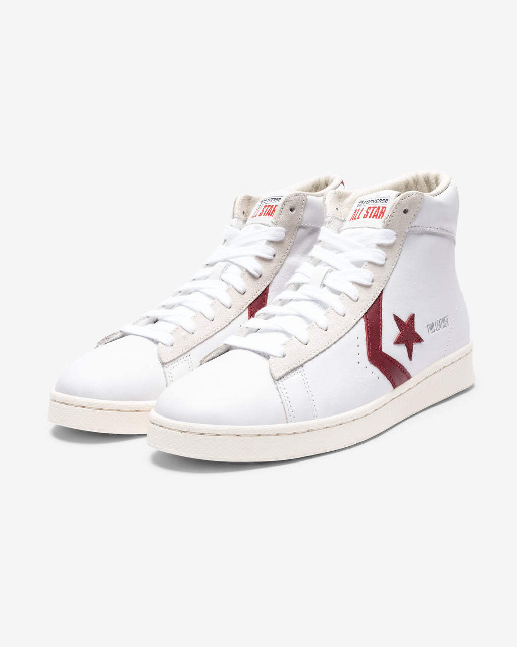 PRO LEATHER HI - WHITE/ TEAMRED/ EGRET