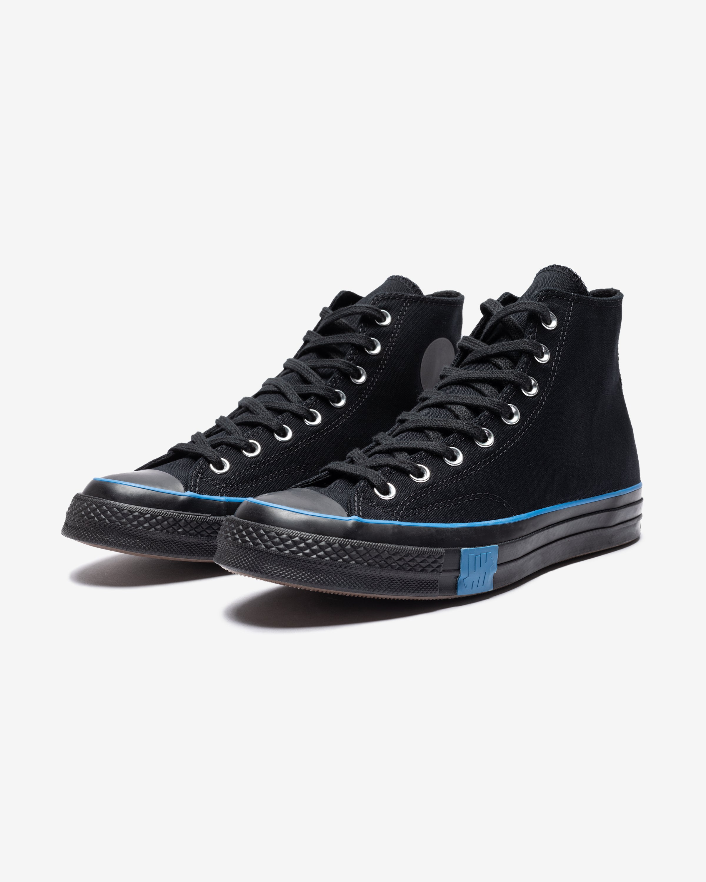 CONVERSE X UNDEFEATED CHUCK 70 HI - BLACK/ IMPERIALBLUE