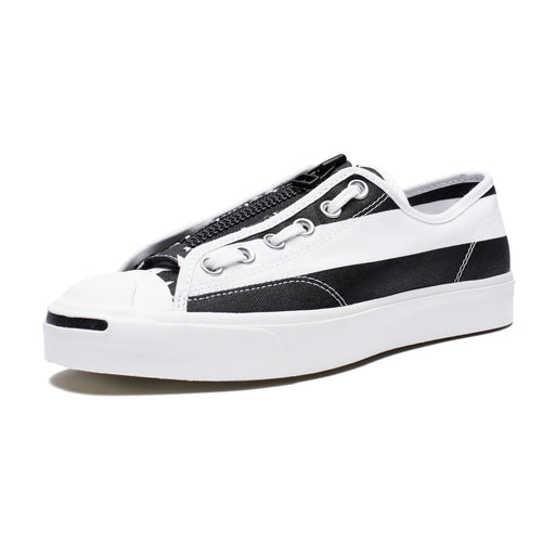 CONVERSE X SOLOIST JACK PURCELL - WHITE/BLACK Image 1