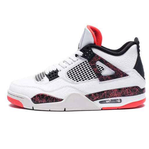 AJ 4 RETRO - WHITE/BLACK/BRIGHTCRIMSON