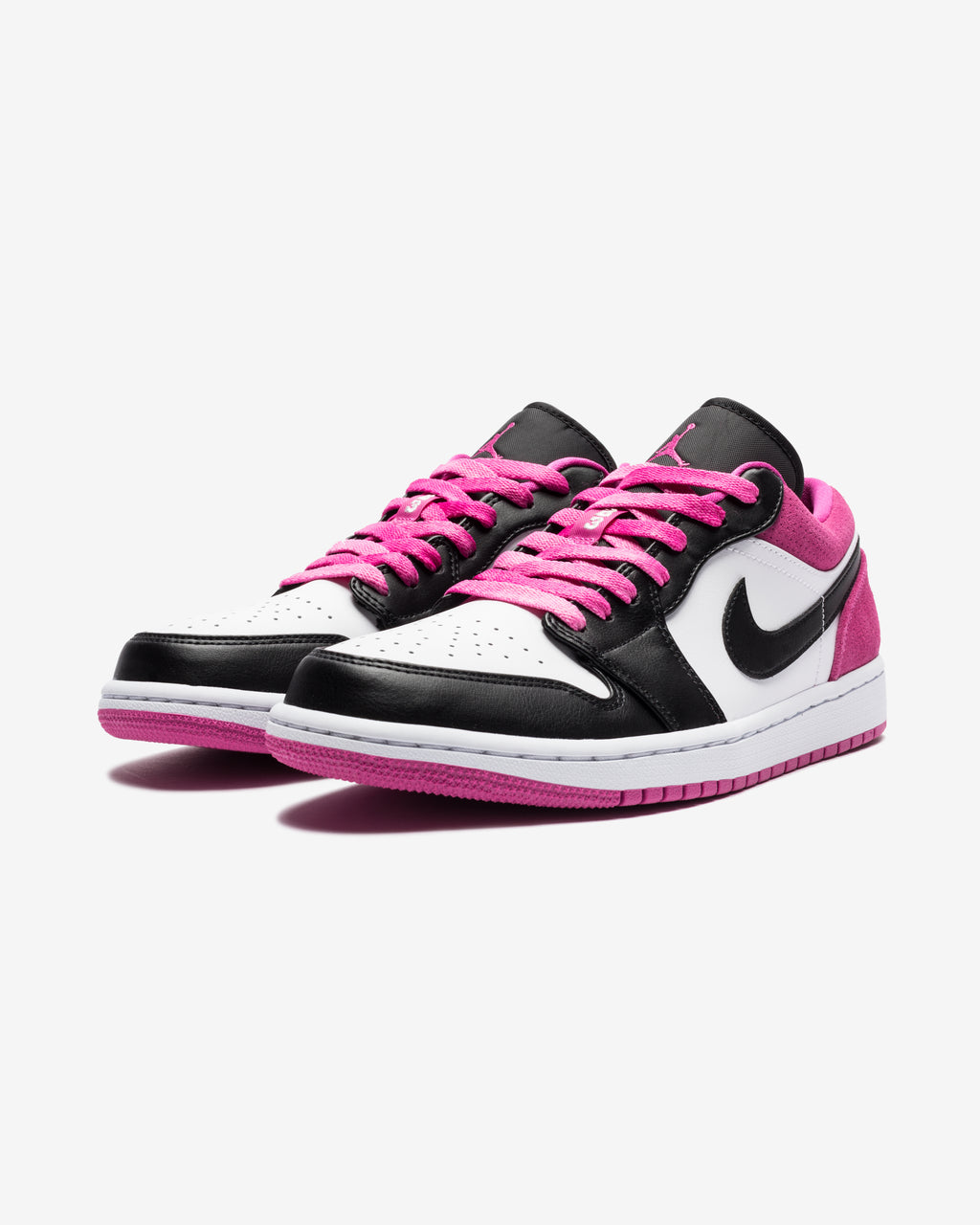 AJ 1 LOW SE - BLACK/ WHITE/ MAGENTA