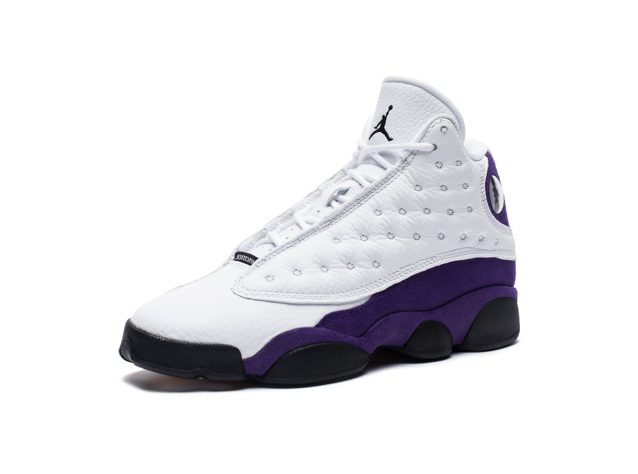 AJ 13 RETRO - WHITE/BLACK/COURTPURPLE/UNIVERSITYGOLD