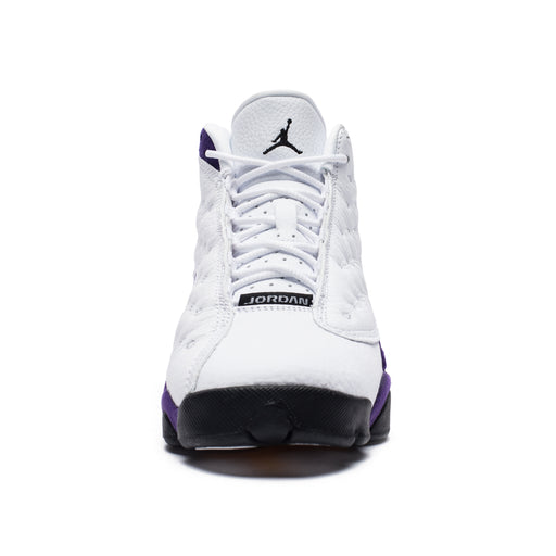 AJ 13 RETRO - WHITE/BLACK/COURTPURPLE/UNIVERSITYGOLD Image 2