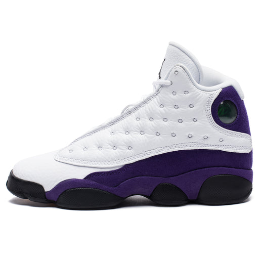 AJ 13 RETRO - WHITE/BLACK/COURTPURPLE/UNIVERSITYGOLD Image 4