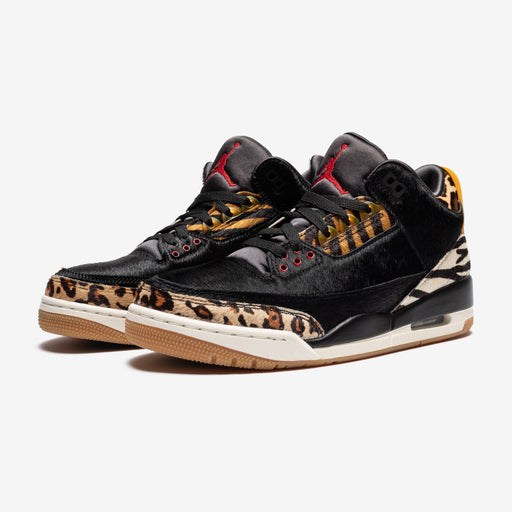 AJ 3 RETRO SE - BLACK/MULTI-COLOR/DARKMOCHA/ROPE Image 1