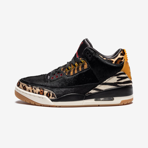 AJ 3 RETRO SE - BLACK/MULTI-COLOR/DARKMOCHA/ROPE Image 2