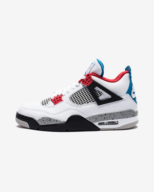 AJ 4 RETRO SE - WHITE/MILITARYBLUE/FIRERED/TECHGREY