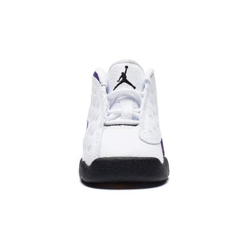 TD AJ 13 RETRO - WHITE/BLACK/COURTPURPLE/UNIVERSITYGOLD Image 2