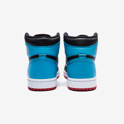 WOMEN'S AJ 1 HIGH OG - BLACK/DKPOWDERBLUE/GYMRED Image 3
