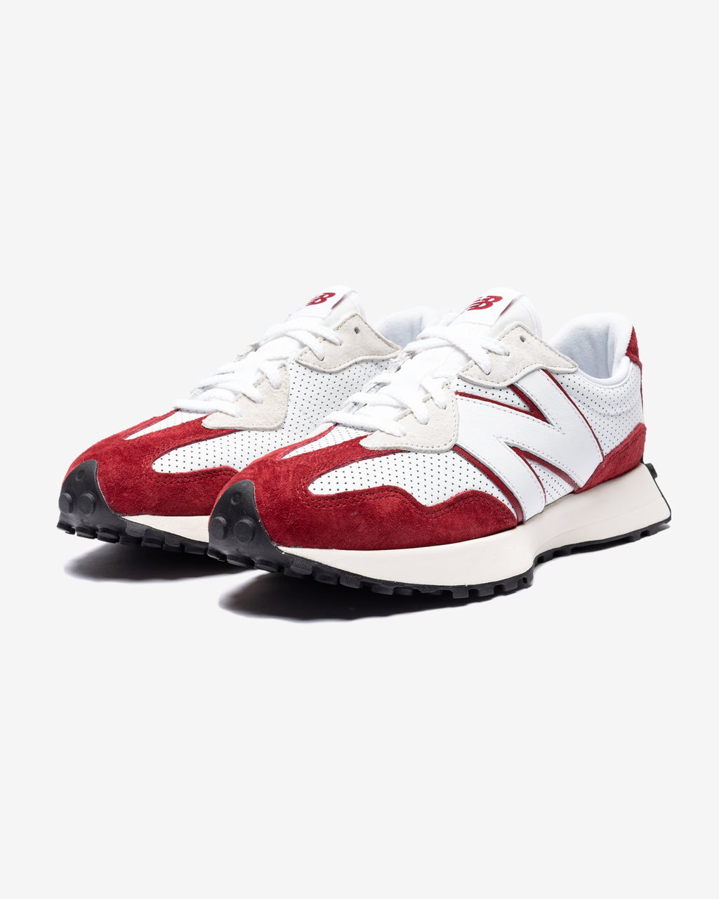 327 - WHITE / RED
