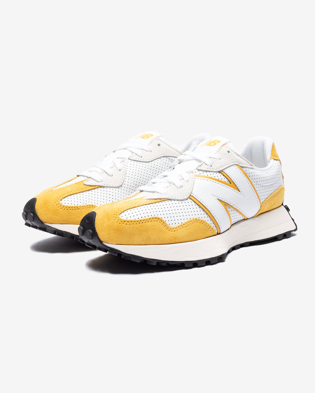 327 - WHITE/ YELLOW