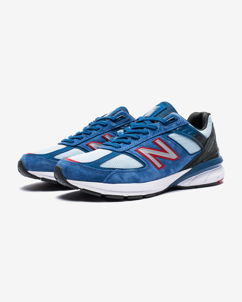 "990 V5 ""MADE IN USA"" - ANDROMEDABLUE/TEAMRED/BLACK"