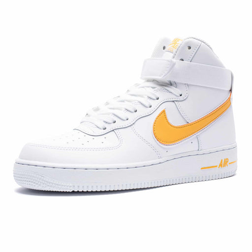 AIR FORCE 1 HIGH '07 3 - WHITE/UNIVERSITYGOLD