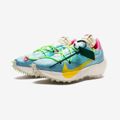 NIKE X OFF-WHITE WOMEN'S VAPOR STREET - POLARIZEDBLUE/TOURYELLOW Image 1