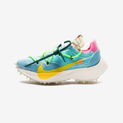 NIKE X OFF-WHITE WOMEN'S VAPOR STREET - POLARIZEDBLUE/TOURYELLOW Image 2