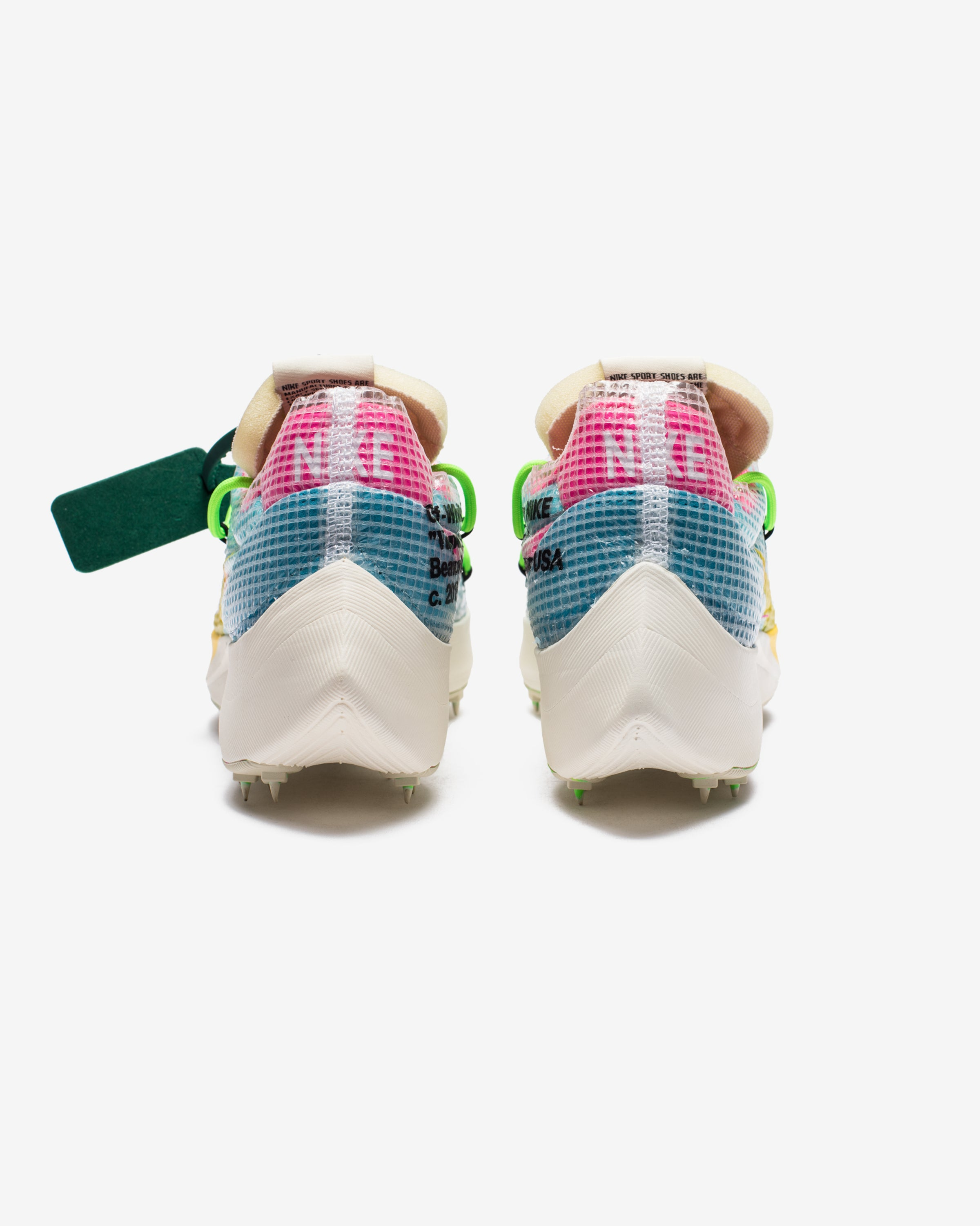 NIKE X OFF-WHITE WOMEN'S VAPOR STREET - POLARIZEDBLUE/TOURYELLOW