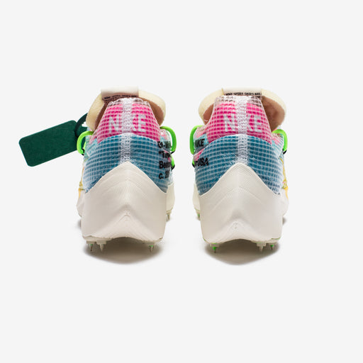 NIKE X OFF-WHITE WOMEN'S VAPOR STREET - POLARIZEDBLUE/TOURYELLOW Image 3