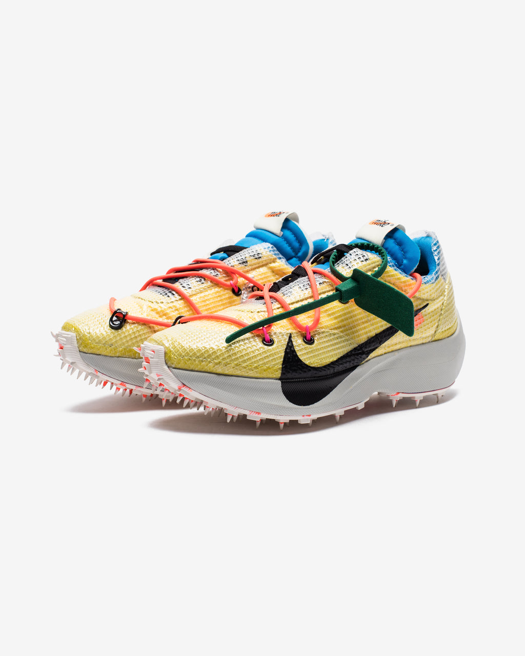 NIKE X OFF-WHITE WOMEN'S VAPOR STREET - TOURYELLOW/LIGHTBONE