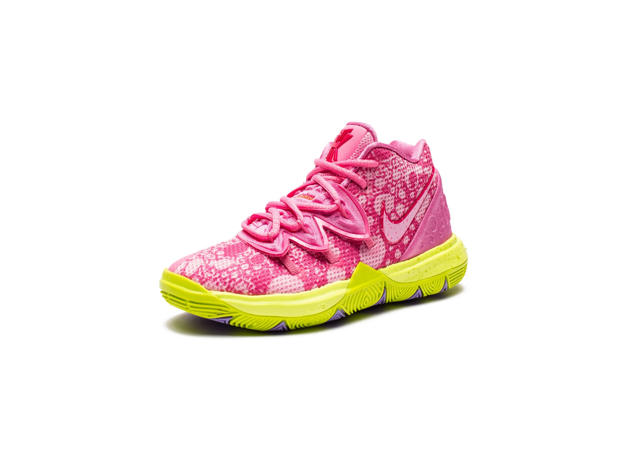NIKE X SPONGEBOB PS KYRIE 5 - LOTUSPINK/UNIVERSITYRED/CYBER