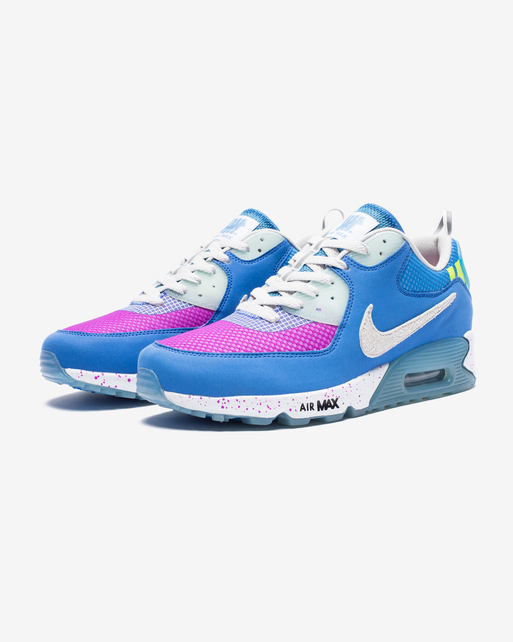 NIKE X UNDEFEATED AIR MAX 90 - PACIFICBLUE/ VIVIDPURPLE