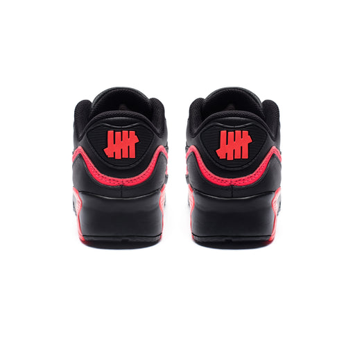 NIKE X UNDEFEATED PS AIR MAX 90 BLACKSOLARRED | Undefeated