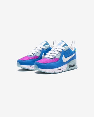 NIKE X UNDEFEATED PS AIR MAX 90 - PACIFICBLUE/ VIVIDPURPLE