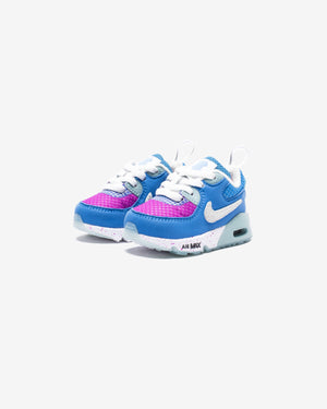 NIKE X UNDEFEATED TD AIR MAX 90 - PACIFICBLUE/ VIVIDPURPLE