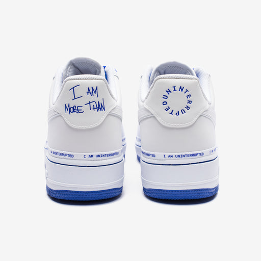 NIKE X UNINTERRUPTED AIR FORCE 1 '07 QS - WHITE/RACERBLUE Image 3