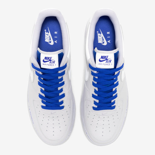 NIKE X UNINTERRUPTED AIR FORCE 1 '07 QS - WHITE/RACERBLUE Image 4