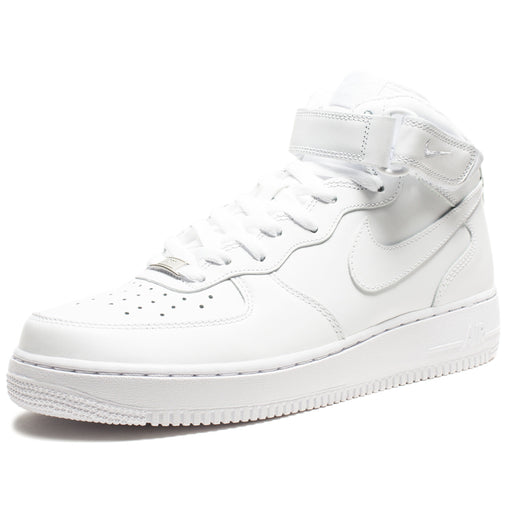 AIR FORCE 1 MID '07 (WHITE/WHITE) Image 1