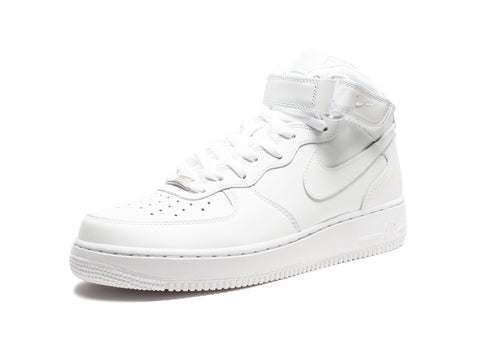NIKE AIR FORCE 1 MID '07 - WHITE/WHITE