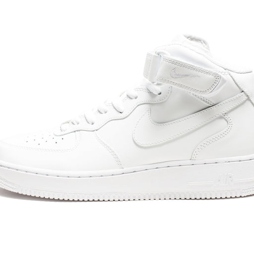 AIR FORCE 1 MID '07 (WHITE/WHITE) Image 5