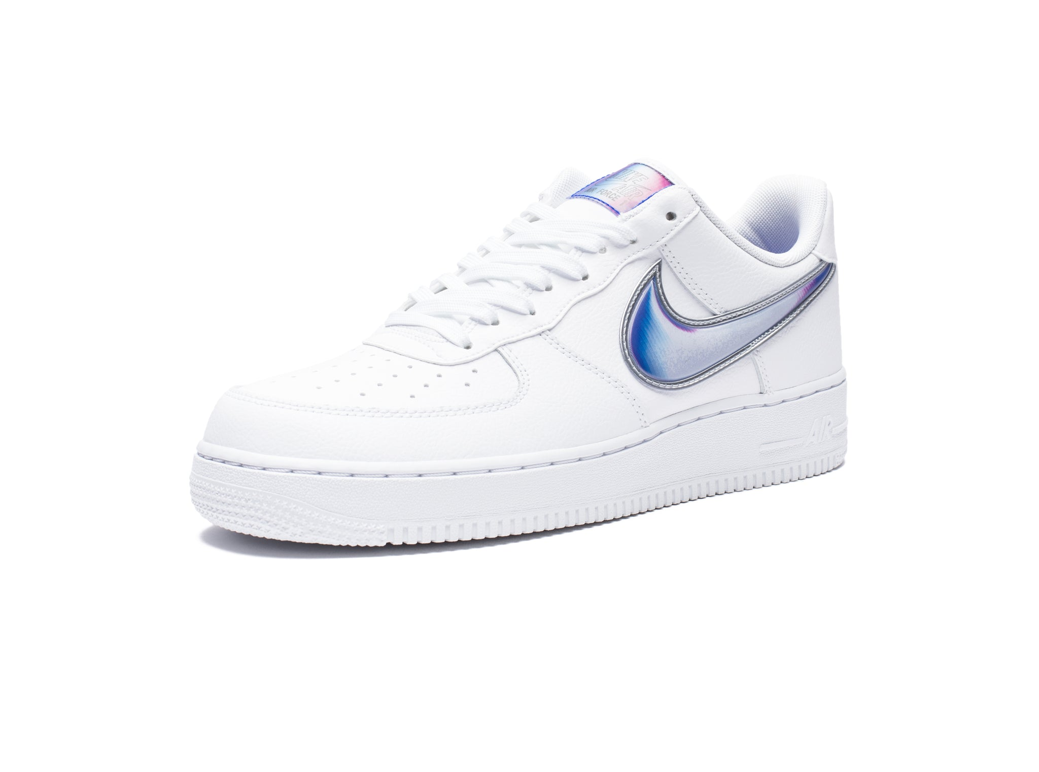 AIR FORCE 1 '07 LV8 3 - WHITE/RACERBLUE