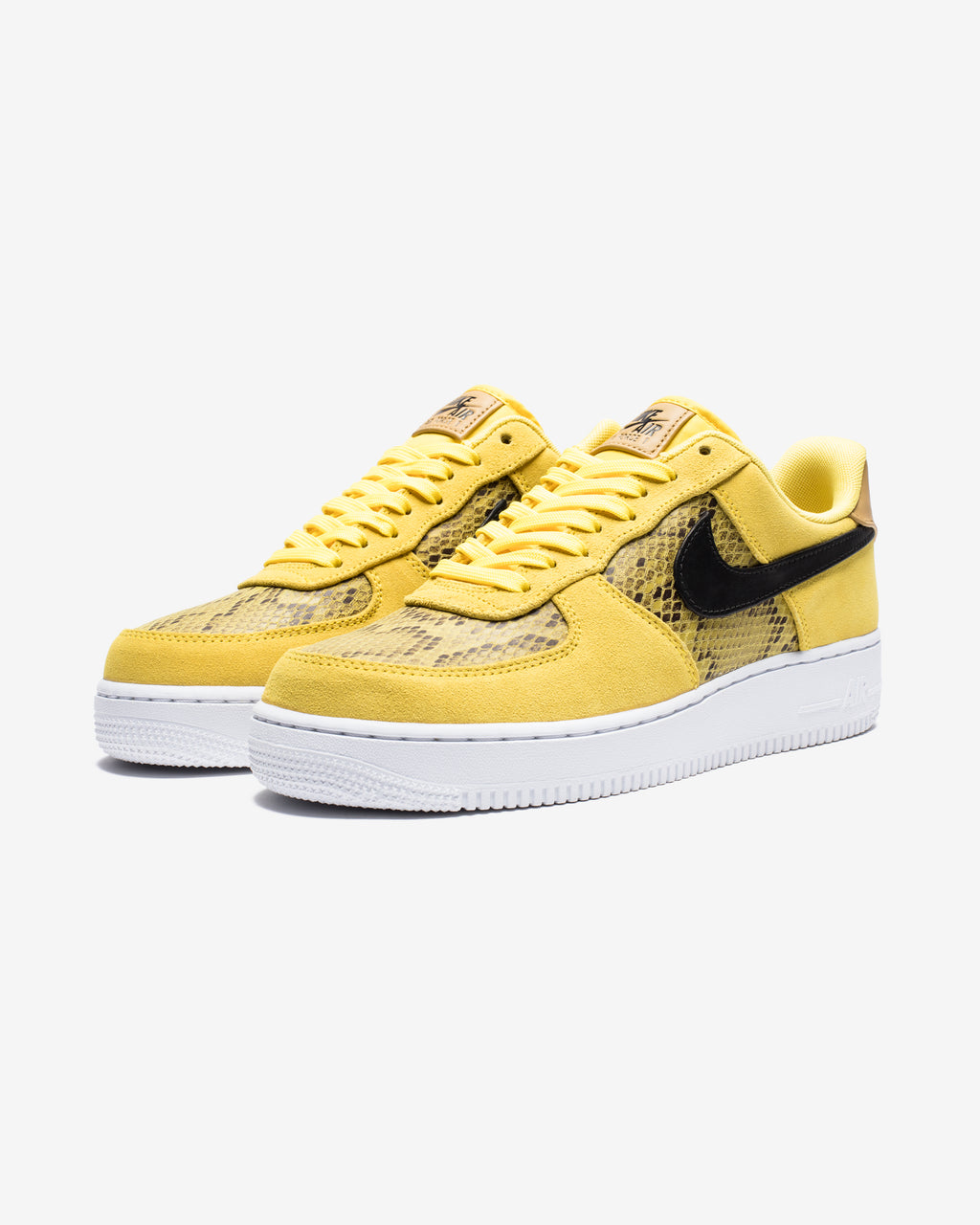 AIR FORCE 1 '07 PREMIUM - CHROMEYELLOW/BLACK/CLUBGOLD/WHITE
