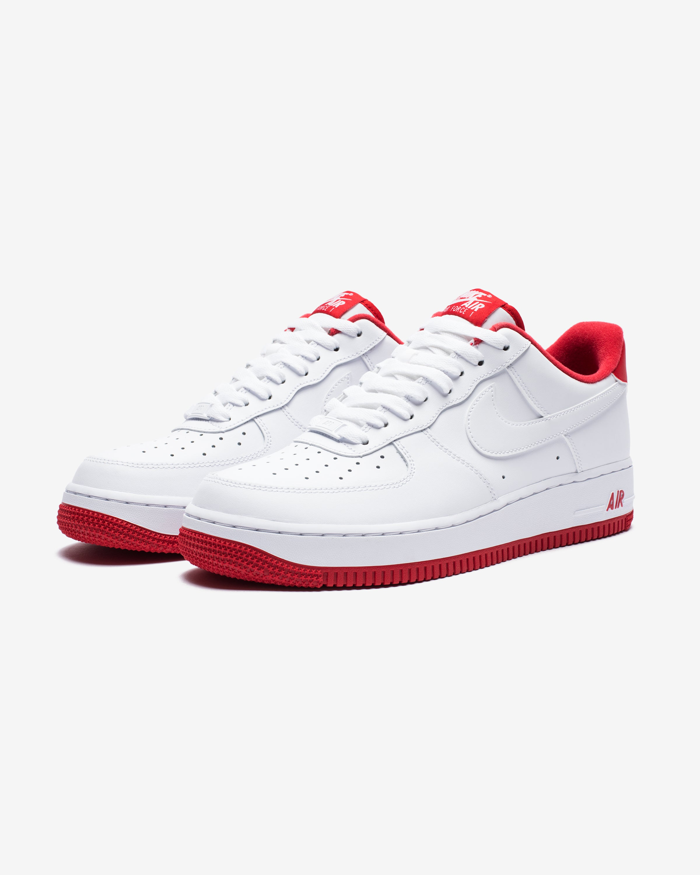 AIR FORCE 1 '07 - WHITE/UNIVERSITYRED