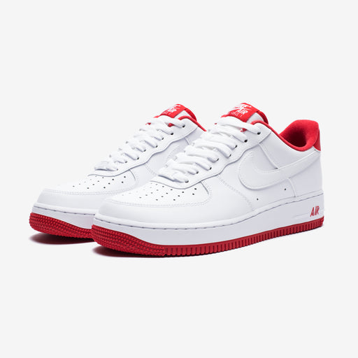 AIR FORCE 1 '07 - WHITE/UNIVERSITYRED Image 1