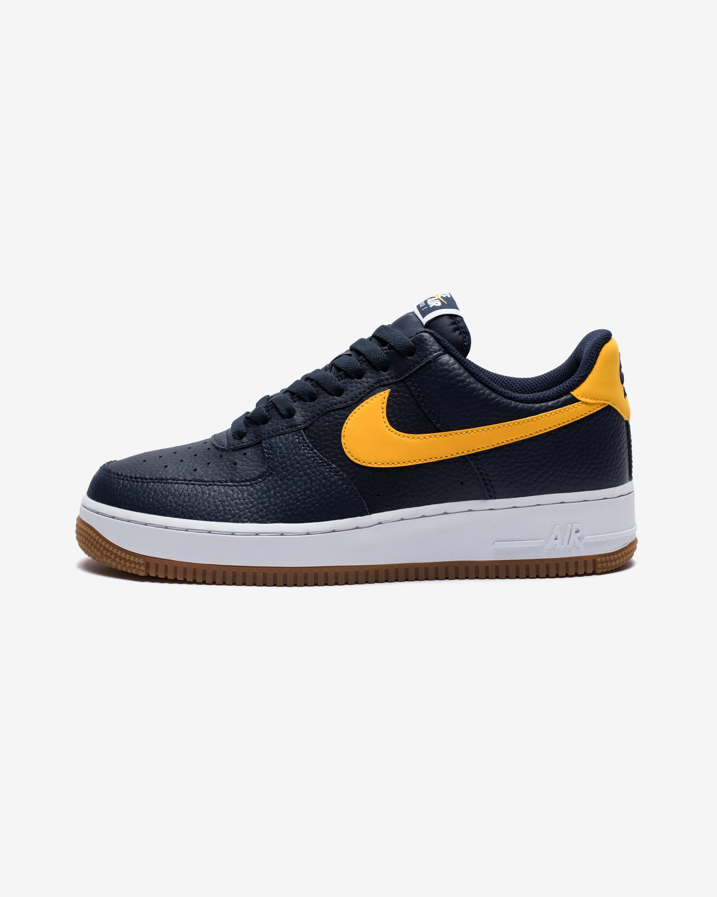 AIR FORCE 1 - OBSIDIAN/UNIVERSITYGOLD/WHITE