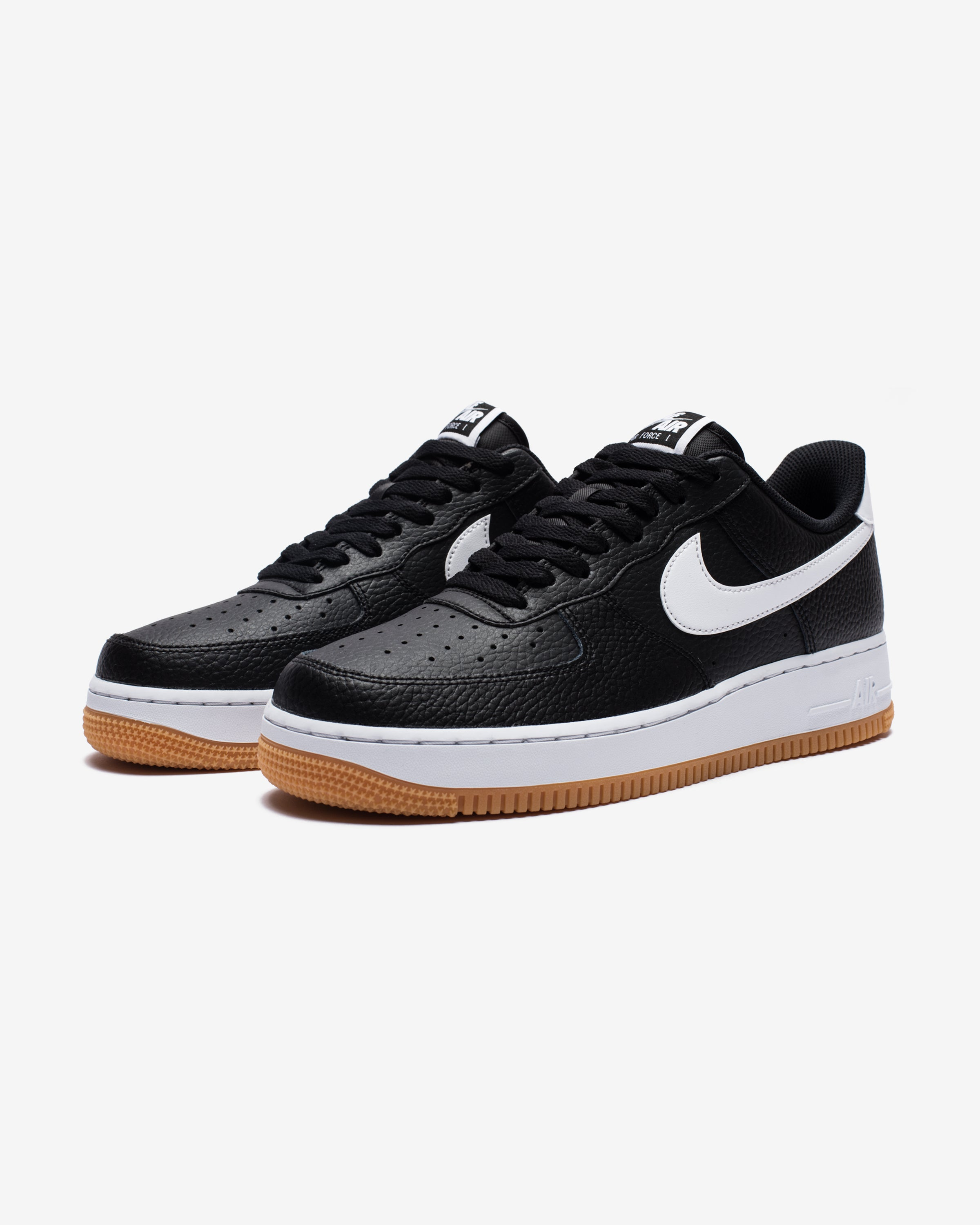 AIR FORCE 1 - BLACK/WHITE/WOLFGREY/GUMMEDBROWN