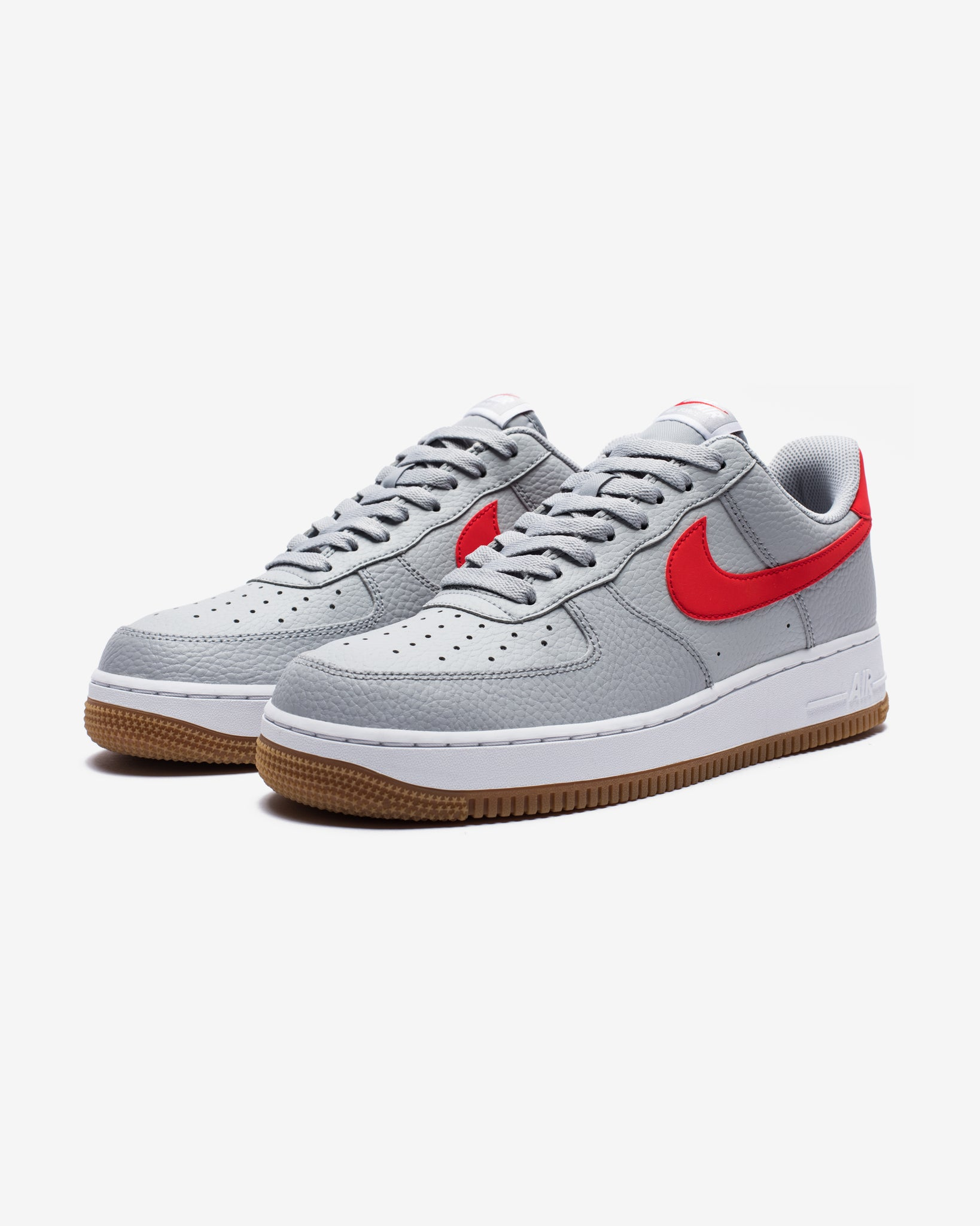 AIR FORCE 1 - WOLFGREY/UNIVERSITYRED/WHITE