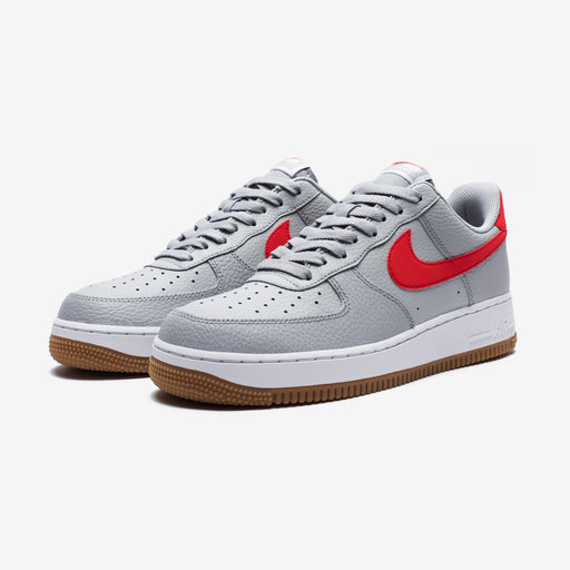 AIR FORCE 1 - WOLFGREY/UNIVERSITYRED/WHITE Image 1